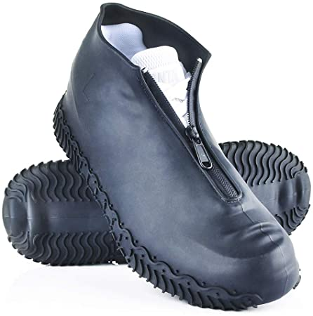 Reusable Rain Shoe Covers Waterproof Shoes Overshoes Boots Protector Anti-Slip