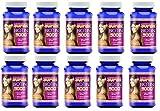 MaritzMayer Laboratories Super Biotin 5000 For Hair Growth, Skin, and Nails 60 Capsules Per Bottle 10 Bottles