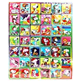 Snoopy Sports and Sun Faux Postage Stamp Sticker Collection (42 Stickers)