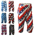 Royal & Awesome Bright Funky Colourful Mens Golf Knickers