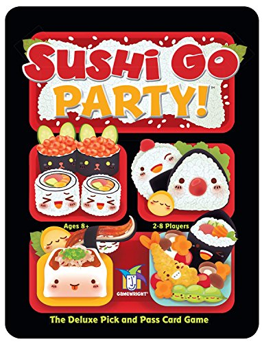 Gamewright Sushi Go Party! Card Game, Standard, Multicolor -