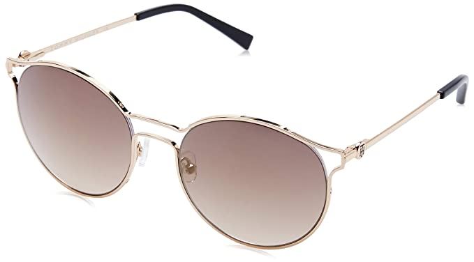 47f56c4d35 Image Unavailable. Image not available for. Colour  Tommy Hilfiger Mirrored Round  Women s Sunglasses ...