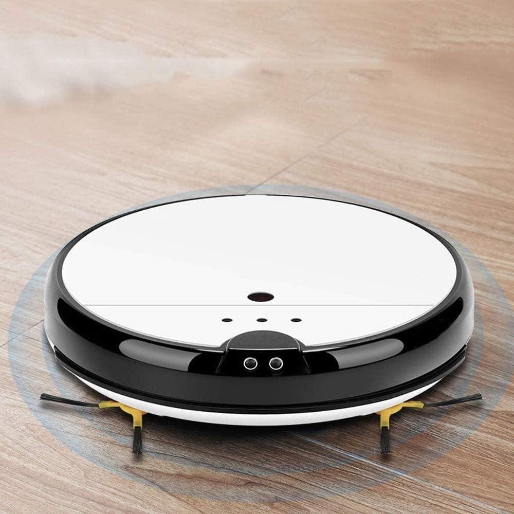 Thumby Robot de Balayage Recharge Automatique Intelligente balayant et en Faisant Glisser Trois-en-Un ménage Machine de Nettoyage Intelligente jianyu (Color : White) White