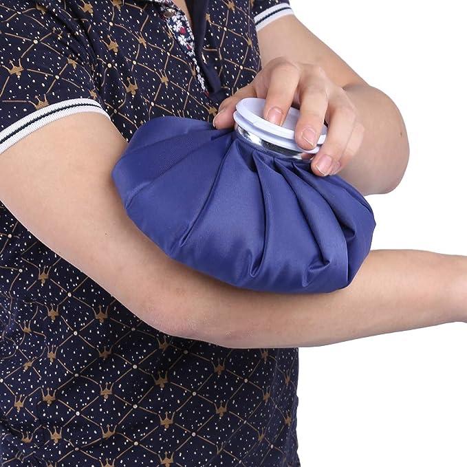 Bolsa de hielo reutilizables, terapia de frío Bolsa refrigerante, caliente y frío reutilizable Bolsa de hielo, kühlpads Bolsa de hielo Terapia de Frío para ...