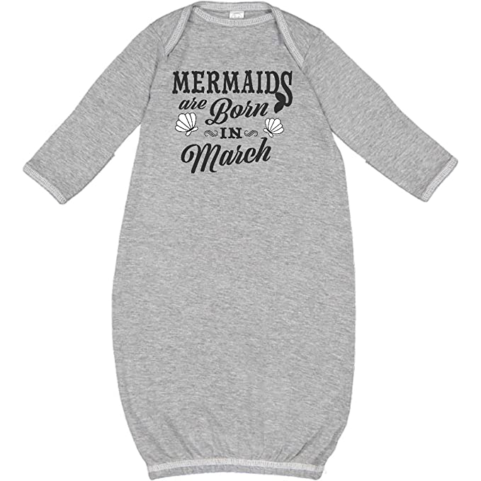 inktastic Mermaids are Born in March Birthday Toddler T-Shirt