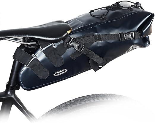 Sillín de bicicleta Bolsa de bicicleta Bolsa impermeable Bolsa de ...