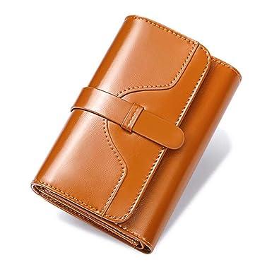 f8f4a58f9156 Amazon.co.jp: Smartes 本革 長財布 レディース 大容量 カード入れ 札入れ 小銭入れ 高品質 軽量 プレゼント  banyanu-qb03: シューズ&バッグ