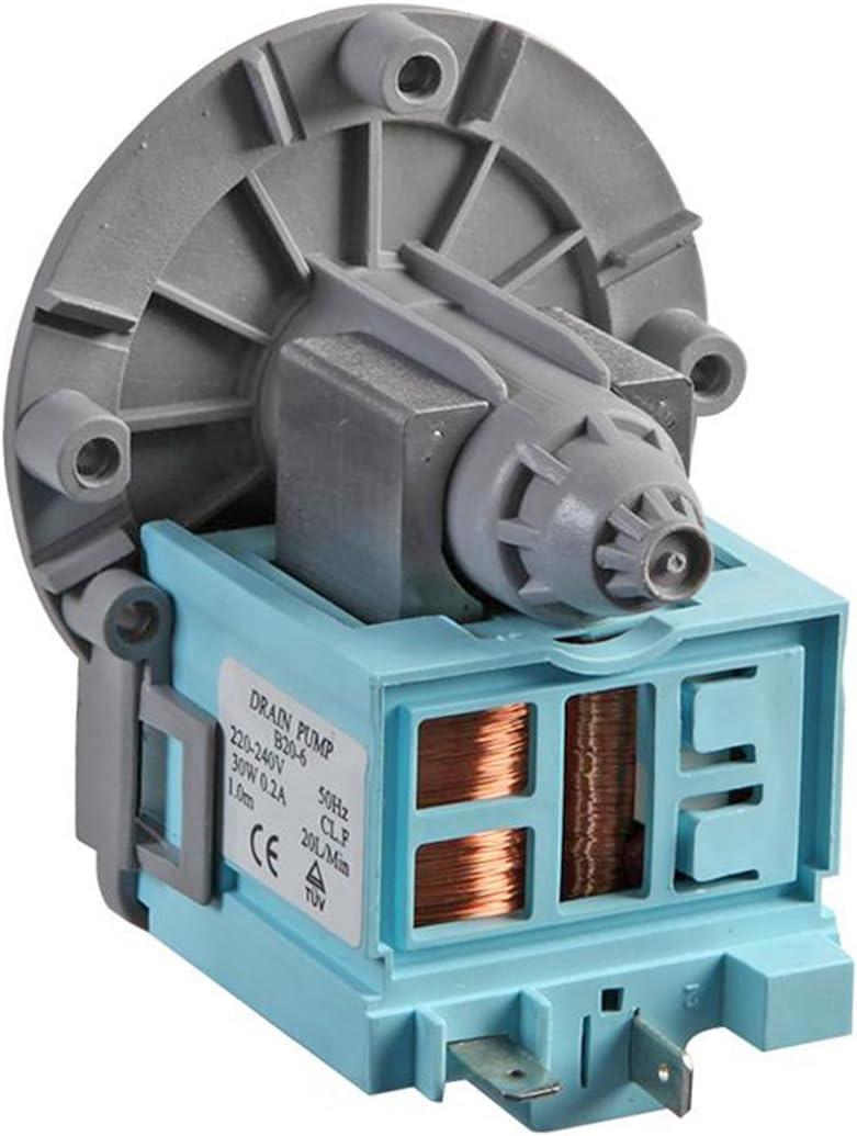 Spares2go - Bomba de desagüe para lavadora Samsung, se puede lavar en el lavavajillas (240V)