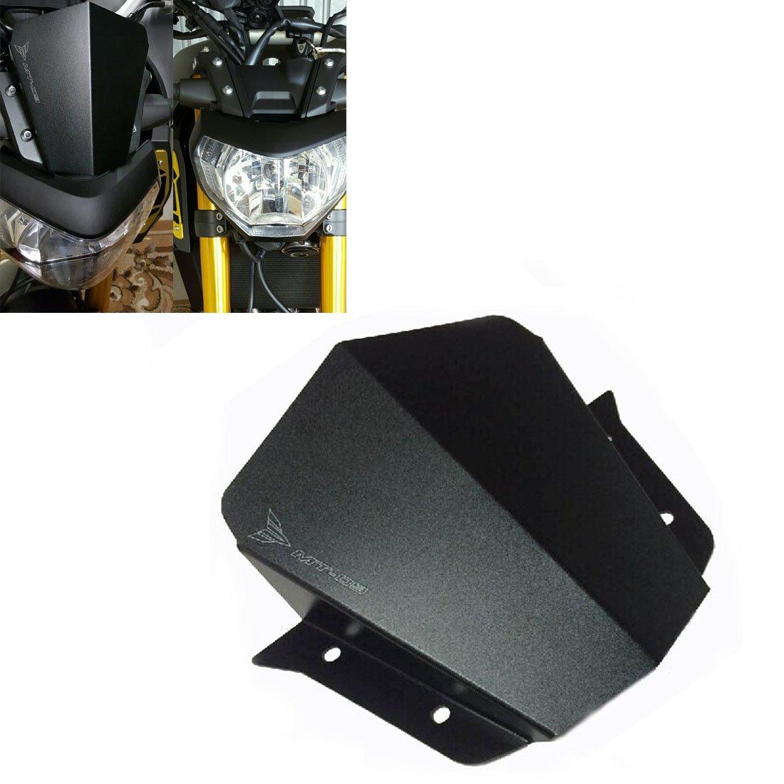 MT09 Parabrezza Cupolino per Yamaha MT-09 MT09 2014 2015 2016 Alluminio Issyzone