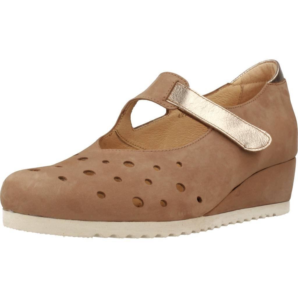 Zapatos de Cordones para Mujer, Color marrón, Marca Mateo Miquel, Modelo Zapatos De Cordones para Mujer Mateo Miquel 3318M Marrón 37 EU|Marrón
