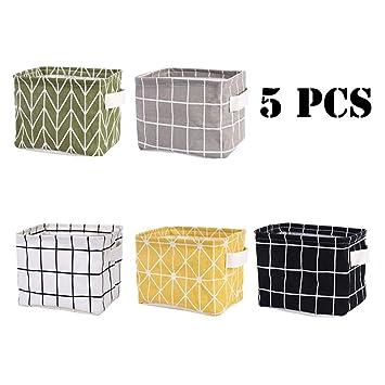 Amazon.com: Tamicy Mini cesta de almacenamiento (paquete de ...