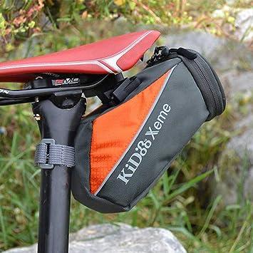 Amazon.com: Vinteen - Bolsa para sillín de bicicleta, bolsa ...
