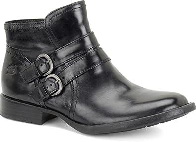 Born Womens Black Boots Pirlo Grain