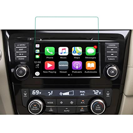 """BUENNUS 7"""" Screen Protector for 2017 2018 Nissan Rogue Sport Car Navigation  Protective Film for 2014 2015 2016 2017 2018 2019 Nissan Rogue"""