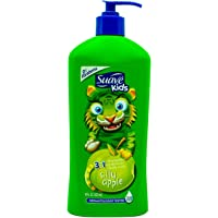 Suave Kids Apple 3-in-1 Shampoo, Conditioner and Body Wash Pump, 532 milliliters