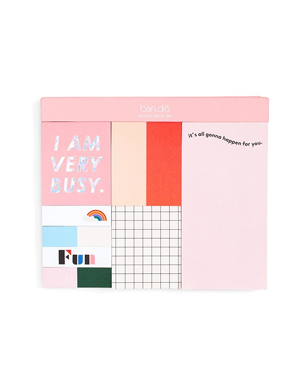 ban.do Women's Sticky Note Set