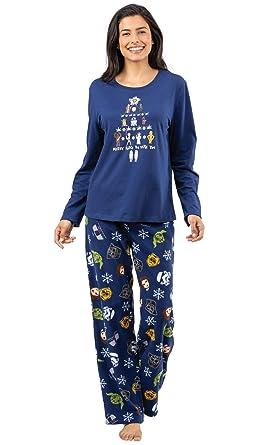 8db6160a61ce PajamaGram Star Wars Pajamas Women - Adult Christmas Pajamas