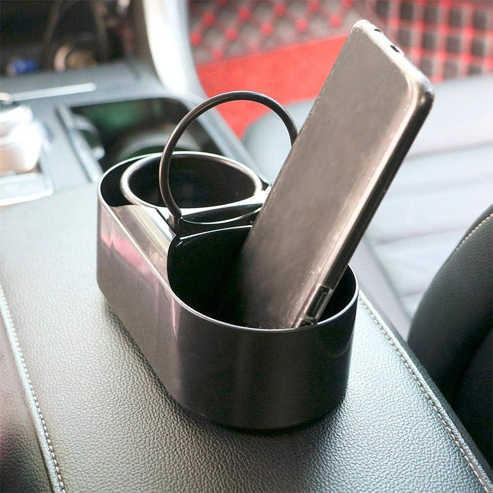 Goodplan Support de tasse de support de bouteille deau de voiture pour le b/âti de camion ABS boisson double trou durable et utile