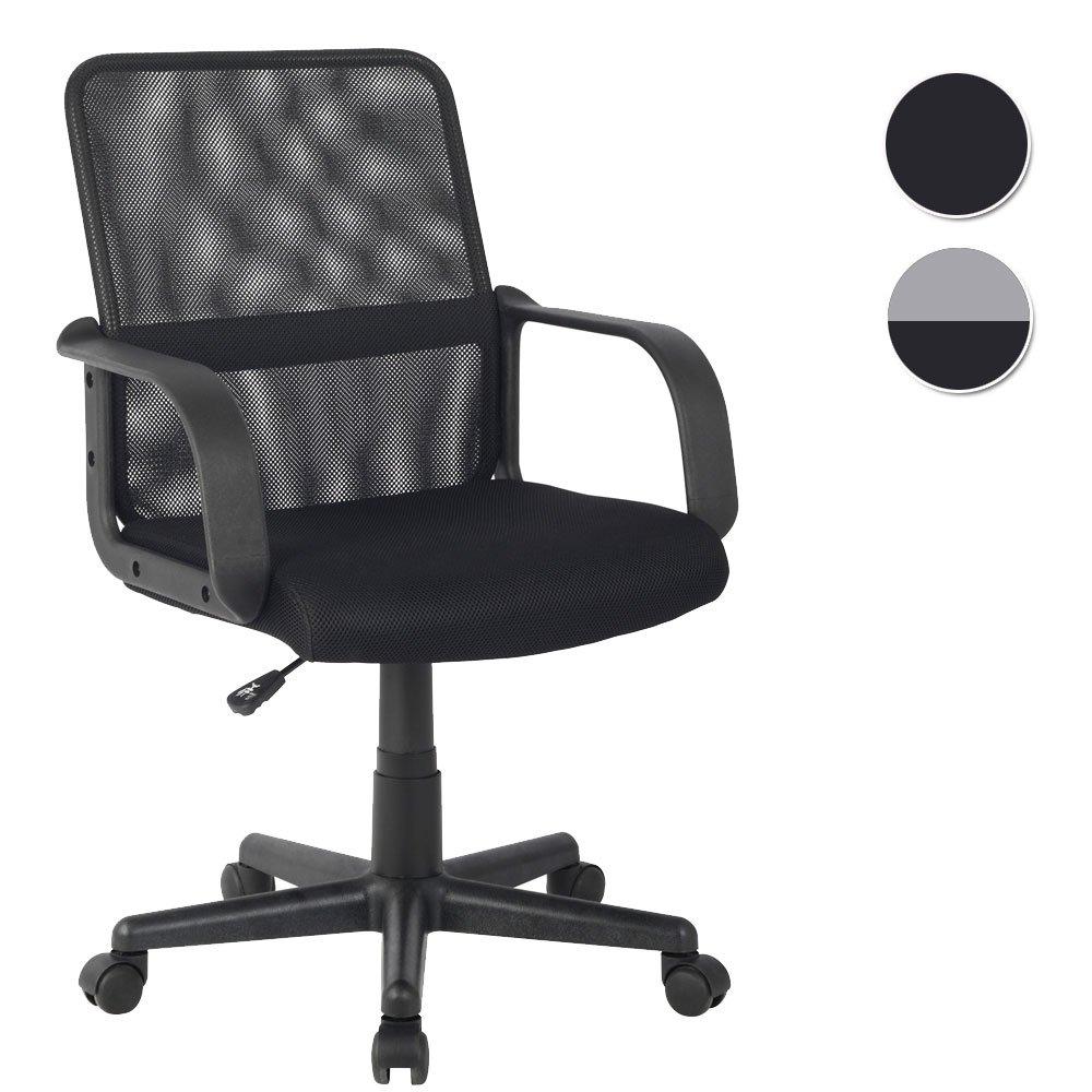 SixBros. Sedia ufficio sedia girevole nero - HLC-1278-2/2103