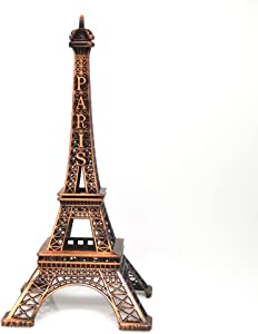 Firefly Imports Bronze Eiffel Tower Metal Tower Display Stand (15-inch x 6-inch)