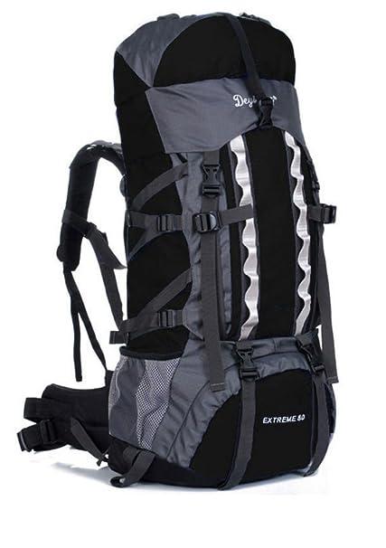 b3d67376d0da Amazon.com: 80L+20 Waterproof Outdoor Camping Travel Hiking Bag ...