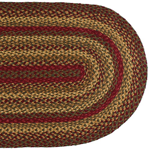 "IHF HOME DECOR Country Style Oval Area Floor Carpet 20"" X"