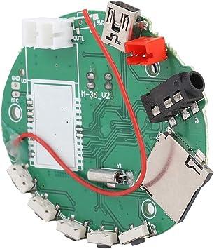 Lazmin Decodificador de MP3 FM TF Tarjeta Radio Módulo de ...