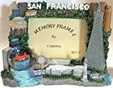 San Francisco Picture Frame with Snow Globe 3.5 x 5 Inch Photo Frame