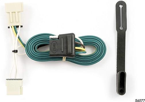 buick terraza trailer wiring harness amazon com curt 56077 vehicle side custom 4 pin trailer wiring  amazon com curt 56077 vehicle side