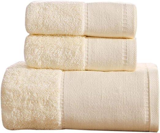 Juego de Toallas de baño de algodón Puro Toallas de baño de Uso ...
