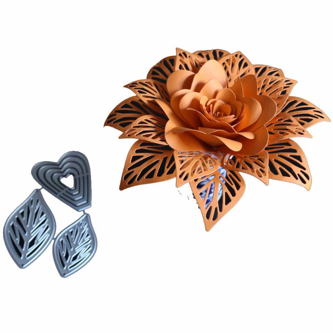 Amazon Com Anboo Diy Flower Metal Cutting Dies Stencils For Art
