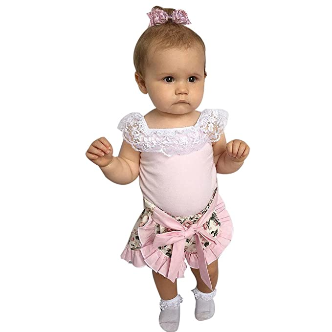Camisas de Niñas Switchali Recién nacido Bebé Niña Verano blusas moda Camisetas shirts para chica 1