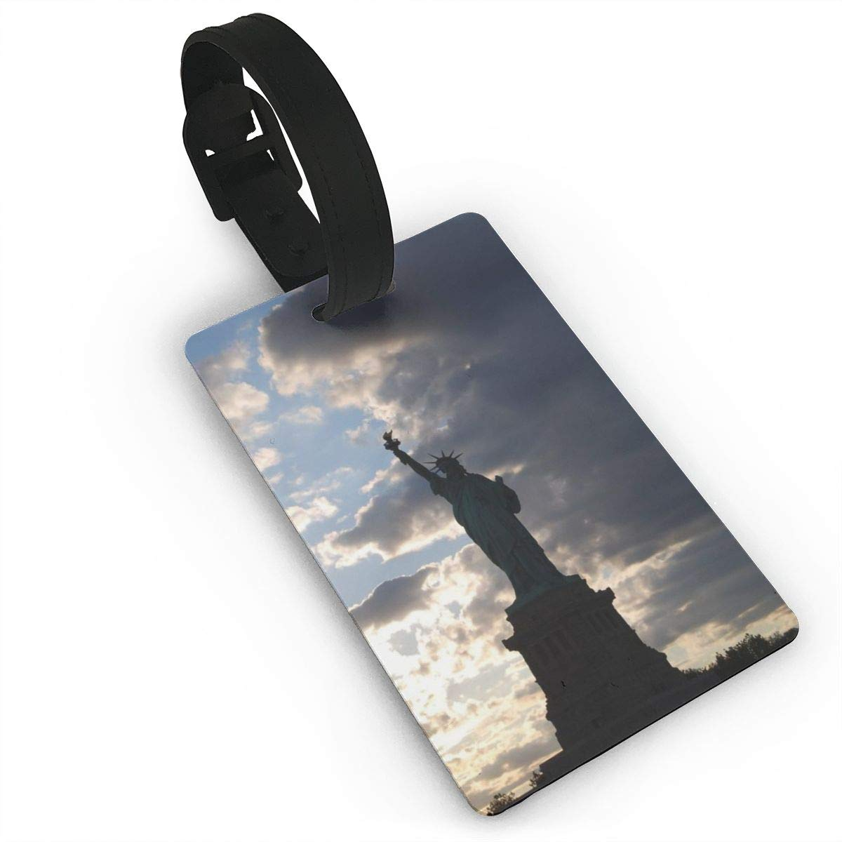 2 Pack Luggage Tags Statue Of Liberty Baggage Tag For Travel Bag Suitcase Accessories