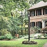 Design House 501817 80-Inch Lamp Post, Black