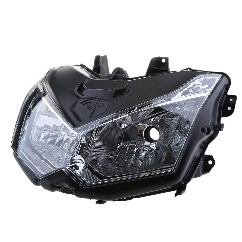 perfk オートバイ ヘッドライト川崎 Z1000 2010-2013のため 高品質 使いやすい B07GNJ2J9Q
