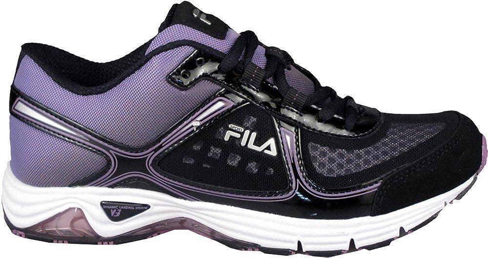 adc913a970c11 Amazon.com   Fila Women's DLS Ancerus Sneakers, Black, 11 M   Shoes