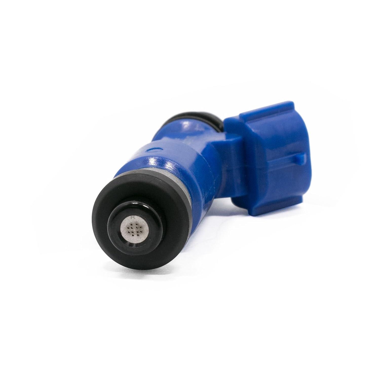 STI 16611-AA720 2.5L 4x OEM Dark Blue 565cc Fuel Injector For Denso Subaru WRX
