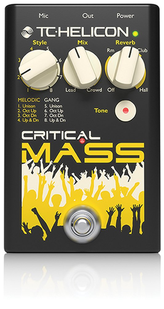 TC Helicon Critical Mass Vocal Effect Processor 996015001
