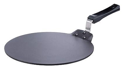 Black 33cm Hawkins Futura Non Stick Aluminium Dosa Tawa