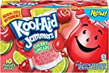 Kool-Aid Jammers Flavored Drink Pouches, Cherry Limeade, 60 Fluid Ounce (Pack of 4)
