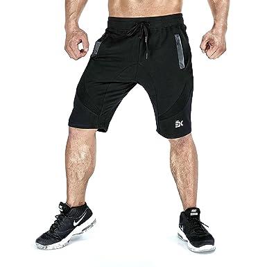75ace044a2a Amazon.com  BROKIG Men s Gym Shorts