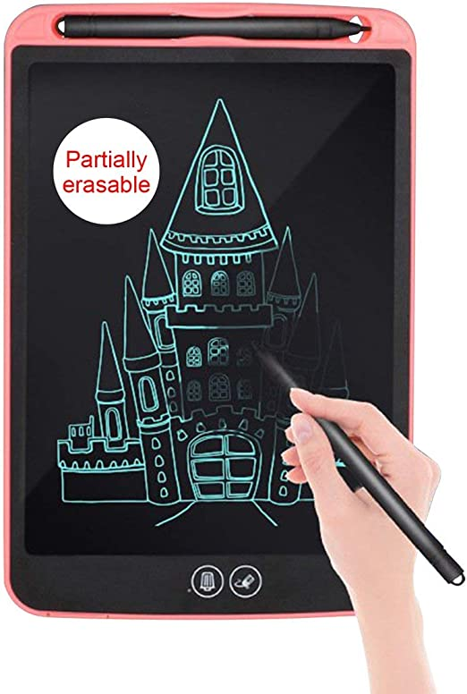 8.5インチLCD描画タブレットデジタルライティンググラフィックタブレット電子手書きパッド部分的に消去可能な描画ボード