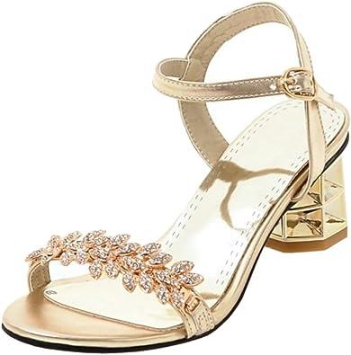 FANIMILA Women Block Heel Slingback Sandals Platform Shoes