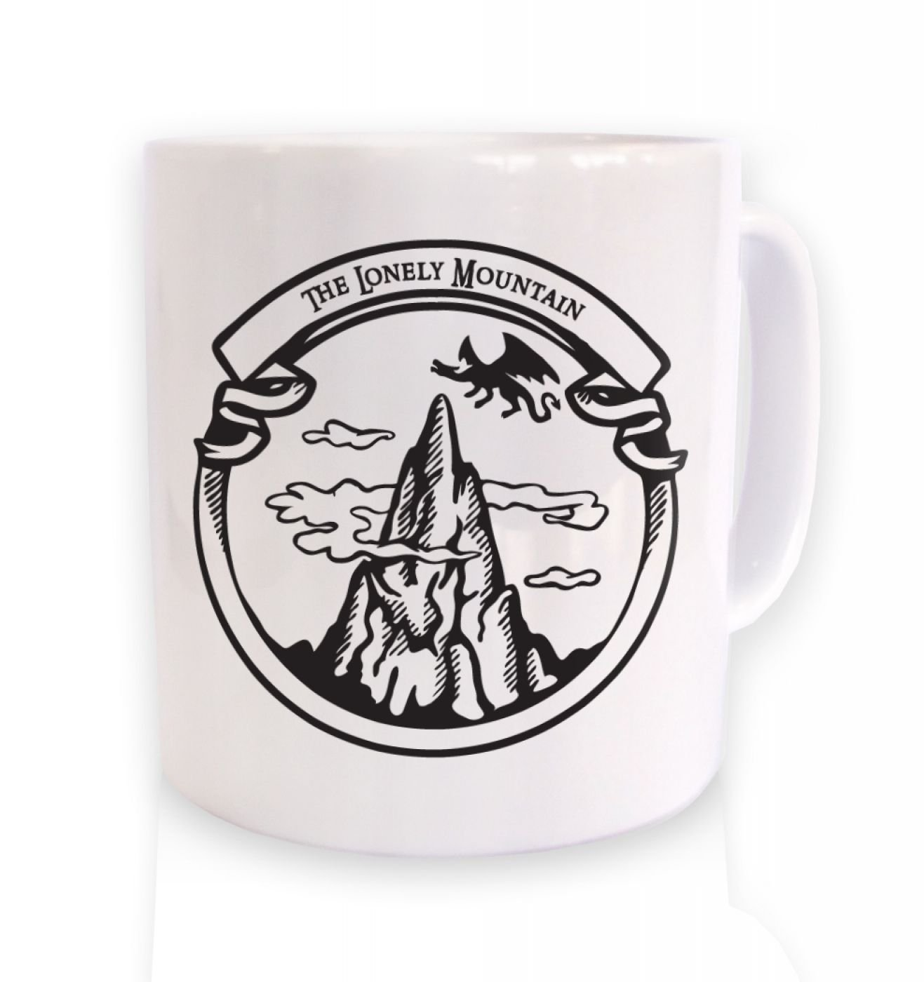 The Dragon Mountain Mug - Tv Film Move Mug by Geeky Mugs By Big Mouth