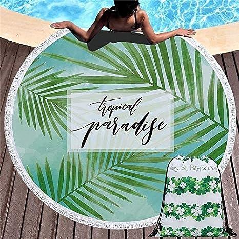 Tomar el Sol Alrededor de la Toalla de Playa, Manta de Picnic ...