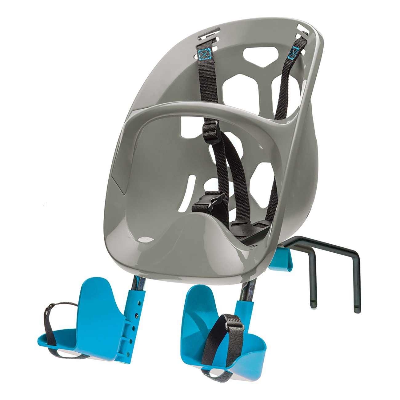 Bell Mini Shell Front Carrier in Gray by Bell
