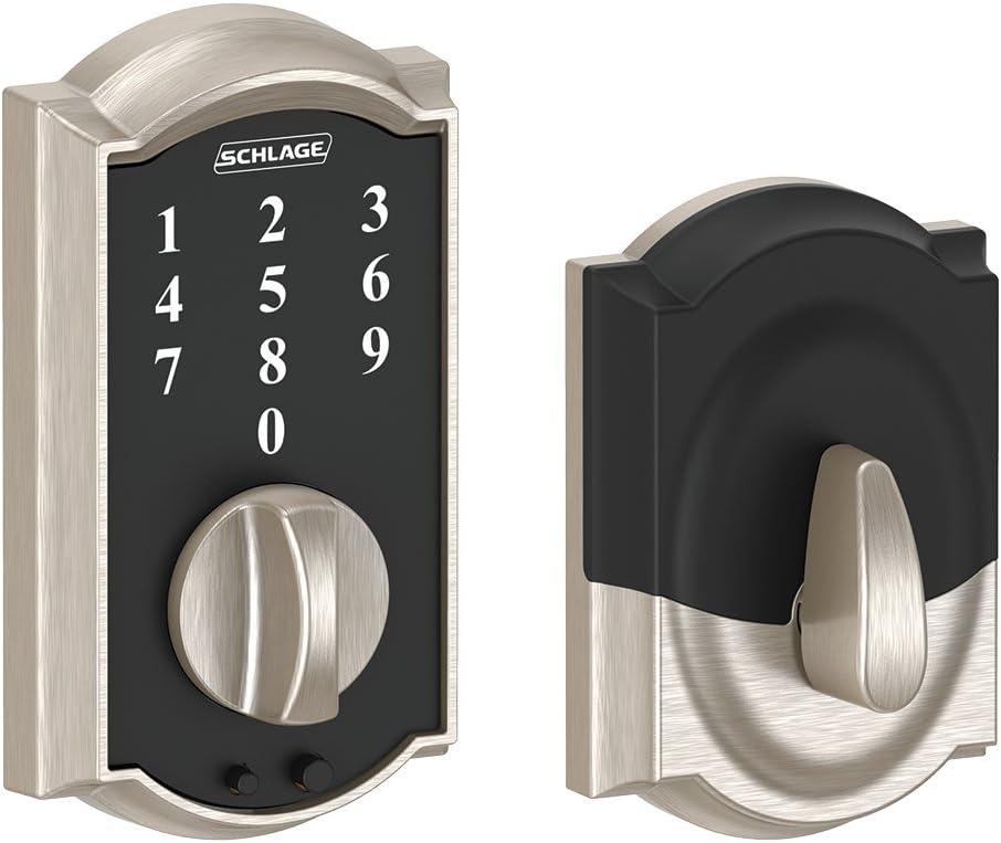 Schlage Touch Camelot Keyless Door Lock