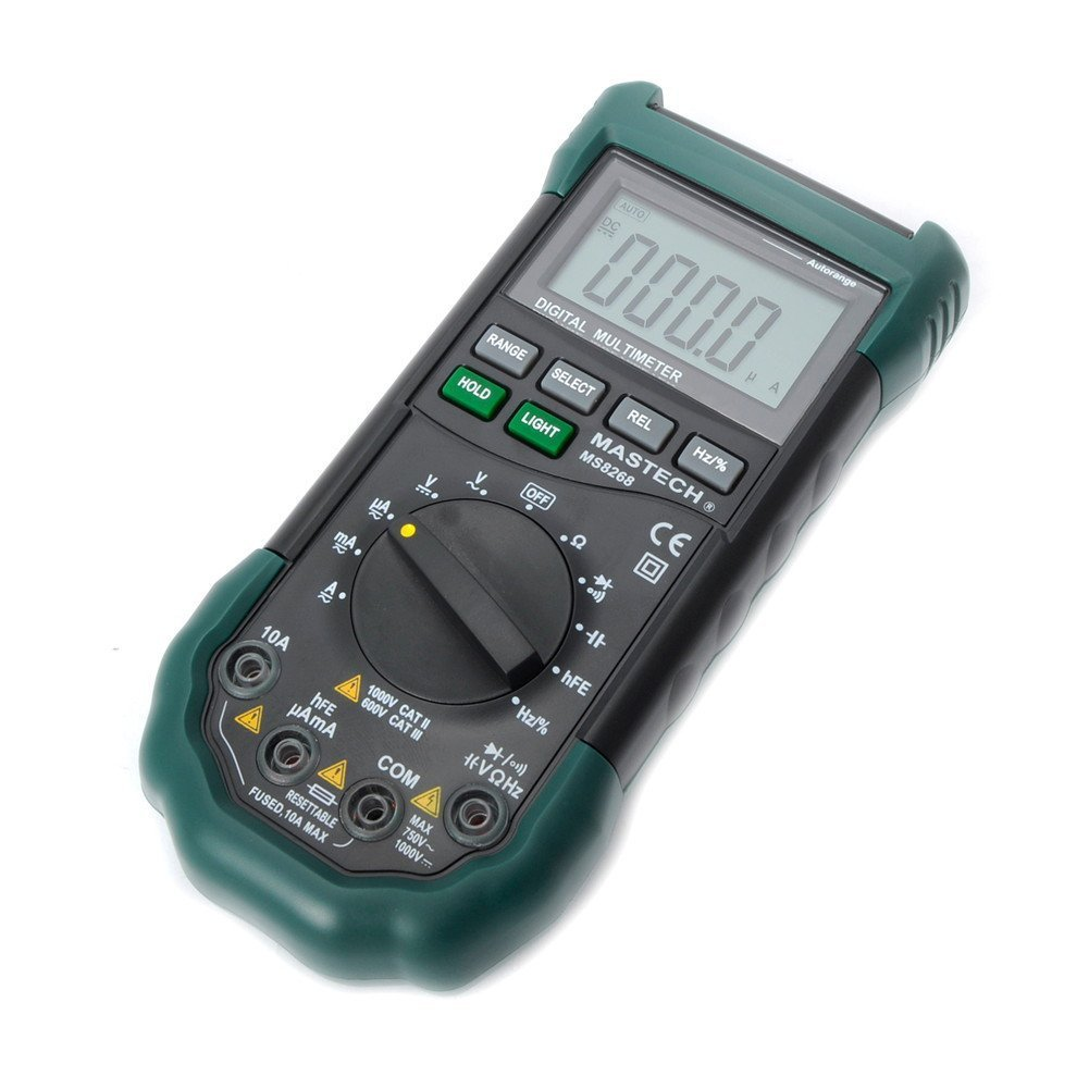 Mastech MS8268 Digital AC/DC Auto/Manual Range Digital Multimeter Meter by Mastech (Image #3)