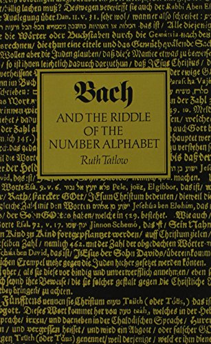 Bach and the Riddle of the Number Alphabet by Brand: Cambridge University Press