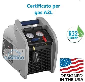 Recuperador de gas refrigerante INFICON Vortex doble Made in USA 3 años de garantía